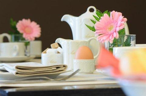 Hotel Astoria - The breakfast garden