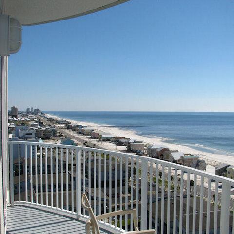 Bel Sole Condominiums Gulf Shores - Gulf Balcony