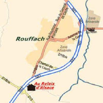 Au relais d Alsace - The Location