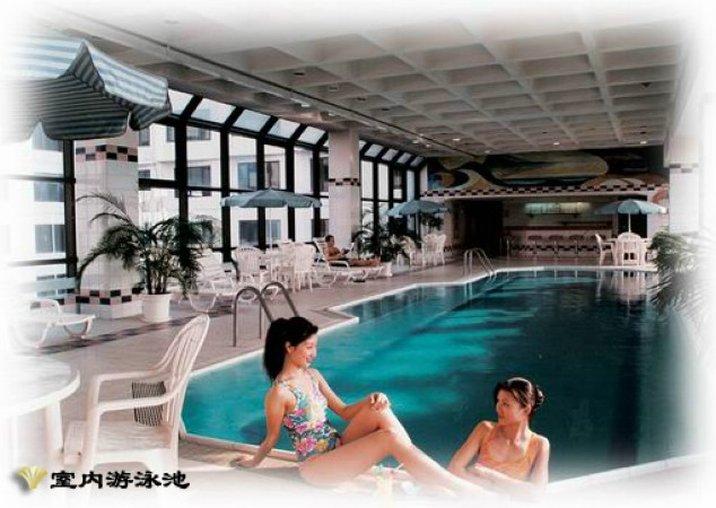 Prime Hotel (Hua Qiao Da Sha Wangfujing) Kilátás a medencére