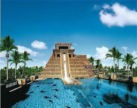 迪拜棕榈岛亚特兰蒂斯酒店 - Aquaventure Ziggurat