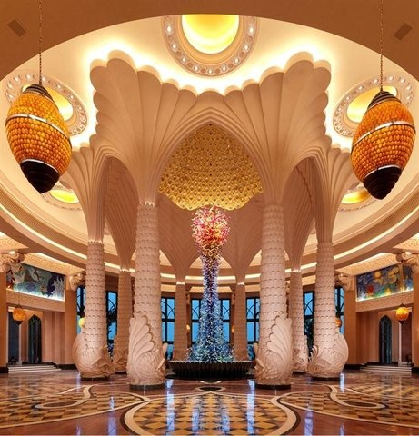 迪拜棕榈岛亚特兰蒂斯酒店 - Lobby View