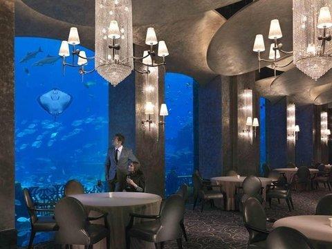 迪拜棕榈岛亚特兰蒂斯酒店 - Restaurants Ossiano