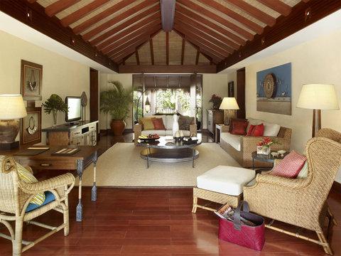 シャングリ ラ ボラカイ リゾート アンド スパ フィリピン - One-Bedroom Pool Villa  Living Room