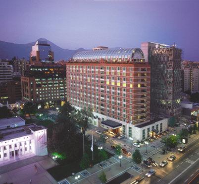 The Ritz-Carlton Santiago Pohled zvenku