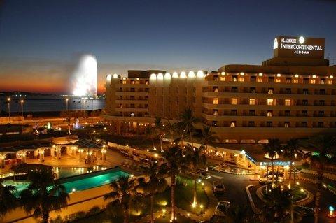 吉达洲际酒店 - HOTELEXTERIORDUSKPicture