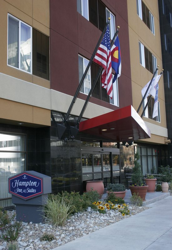 Hampton Inn & Suites Denver-Downtown, CO Pohled zvenku