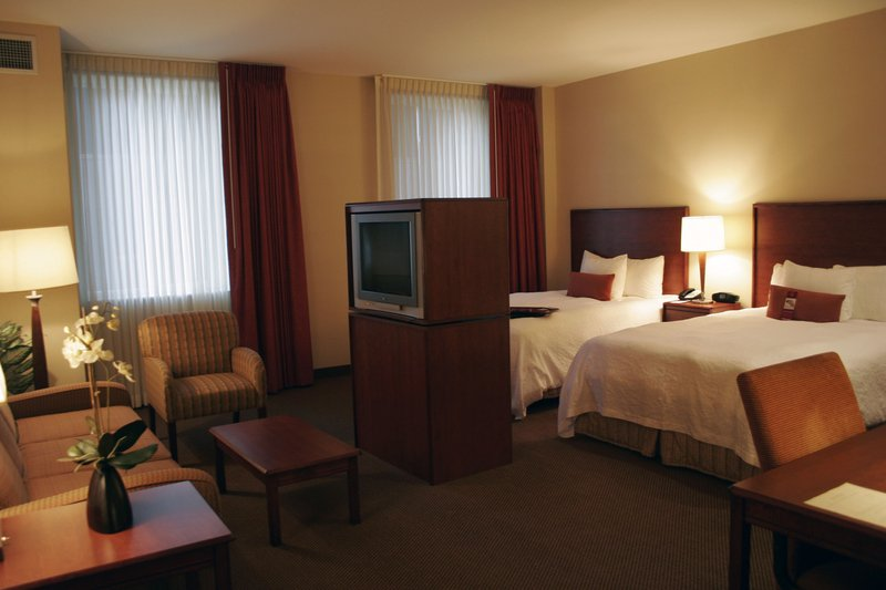 Hampton Inn & Suites Denver-Downtown, CO Zimmeransicht