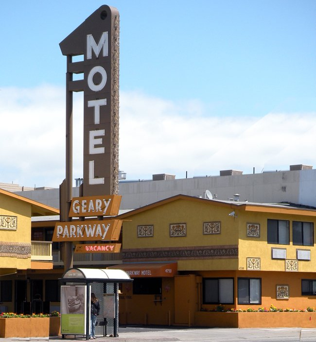 geary parkway motel san francisco ca. Black Bedroom Furniture Sets. Home Design Ideas