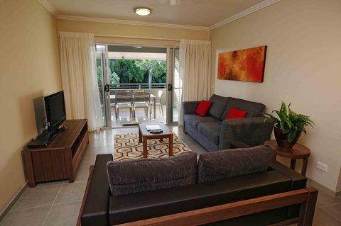 天堂棕榈树度假村 - Living Room
