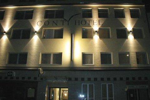 Conti Hotel - Exterior At Night