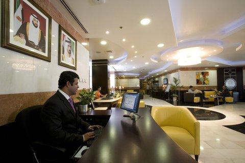 Coral Al Khoory Hotel Apts - Reception
