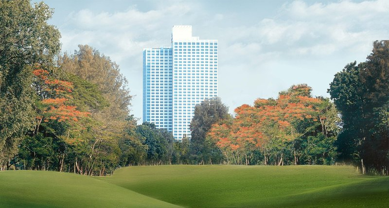 Mulia Hotel Senayan Vue extérieure