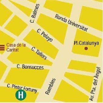 فندق تورين - Map