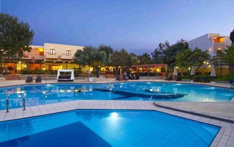 Sirios Village Hotel - All Inclusive - Pool Nightime