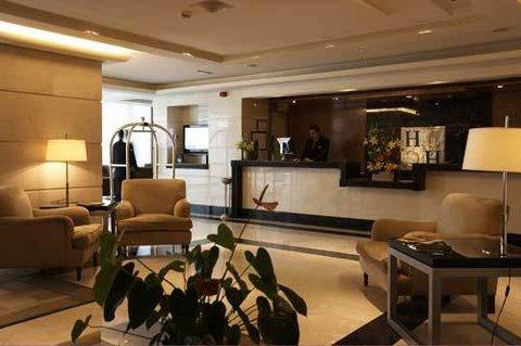 Andalucia Center Hotel Granada - Lobby View