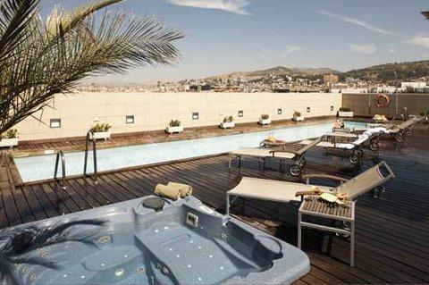 Andalucia Center Hotel Granada - Pool View