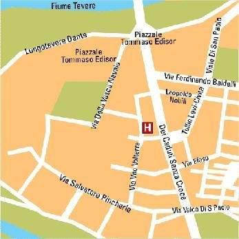 St Paul Hotel - Map