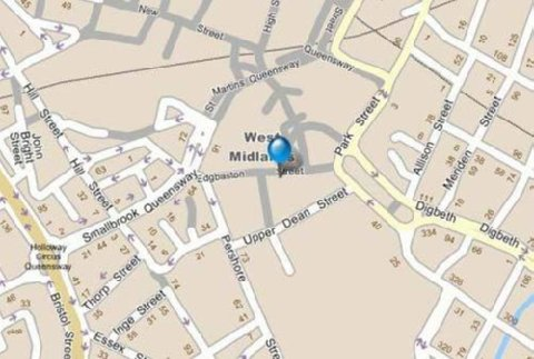 Apollo Hotel - Map
