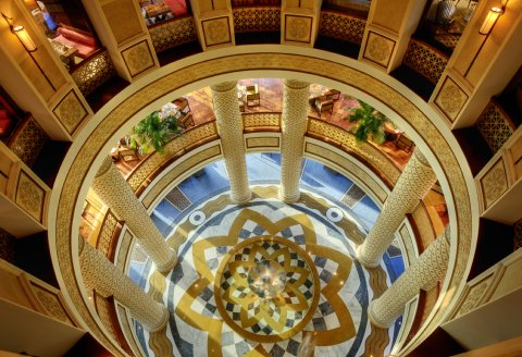 Rosewood Jeddah - Lobby From Above