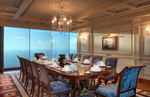 روز وود جدة - Royal Suite Dining Room