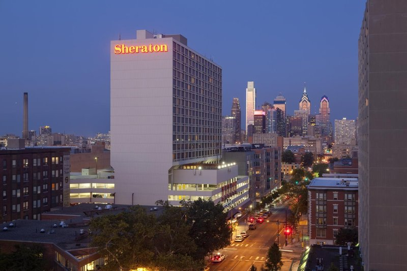 Sheraton Philadelphia University City Hotel 外景