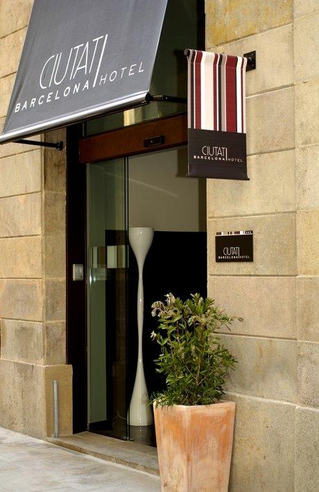Hotel Ciutat de Barcelona Außenansicht