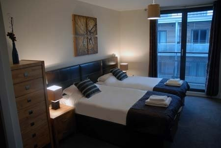 Arc Apartments By Stay Birmingham - Twin Room