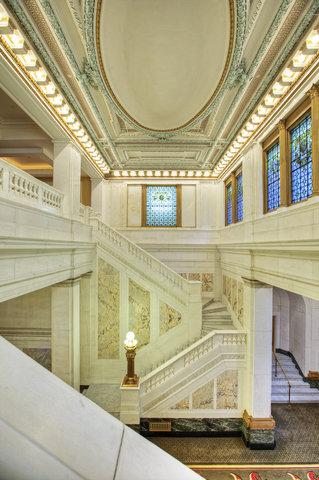 Monaco Baltimore A Kimpton Hotel - Historic Marble Staircase