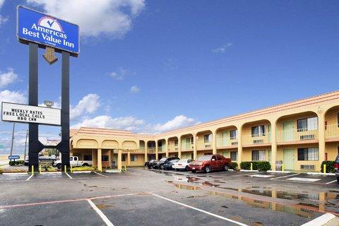 Americas Best Value Inn Dallas - Exterior Sign