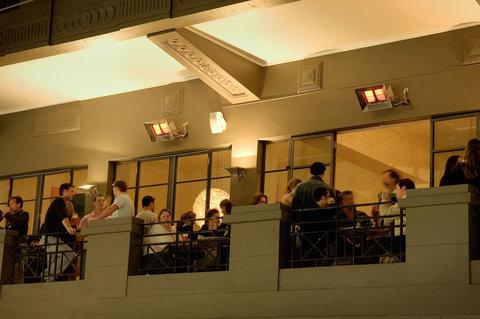 Hotel Richmond - Restaurant Balcony