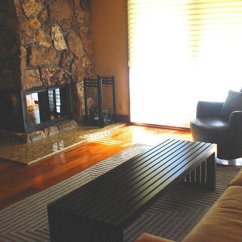 Lift One Condominiums - Fireplace