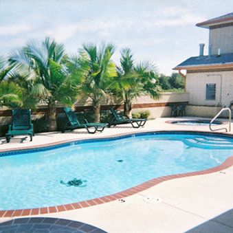 Oxford Inn And Suites Webster Hotel - Pool View