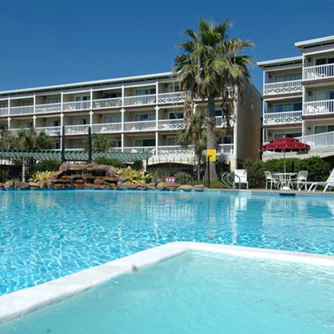 Victorian Condo Hotel Resort - Pool View