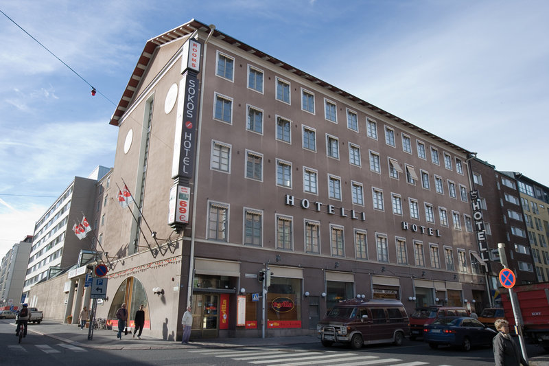 Sokos Hotel Seurahuone, Turku Fasad