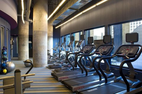 Aloft Dallas Downtown Hotel - Re charge SM  gym