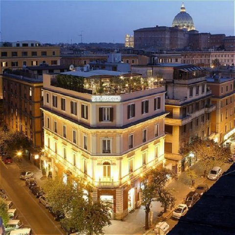 Hotel dei consoli vaticano first class rome italy hotels for Reservation hotel italie
