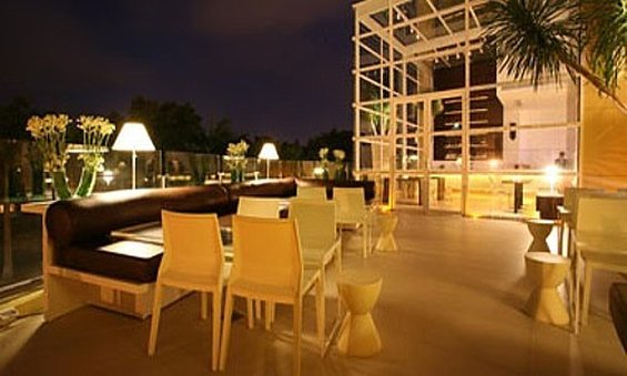 Waterfront Cebu City Hotel and Casino Bar/salón