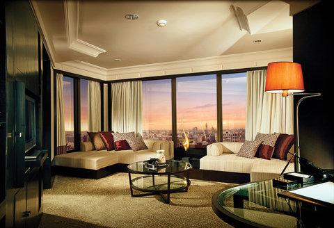 悦榕度假酒店 - Spa Suite Living Area