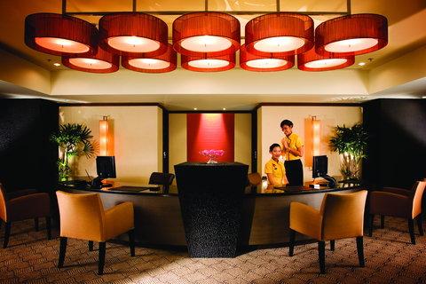悦榕度假酒店 - Club Lounge Reception