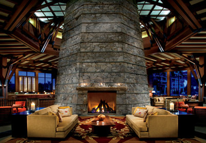 The Ritz-Carlton Lake Tahoe Lobby