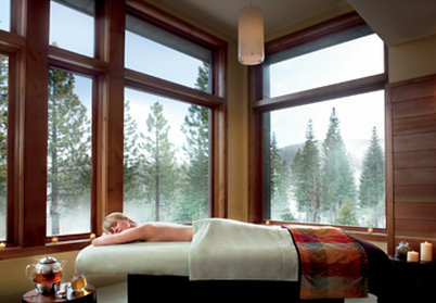 The Ritz-Carlton Lake Tahoe Wellness area