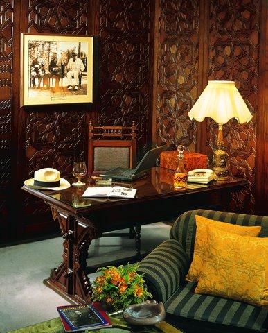 فندق مينا هاوس - Churchill Suite  Living room