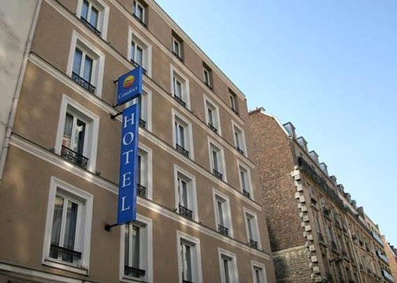 Comfort Hotel Lamarck Ulkonäkymä