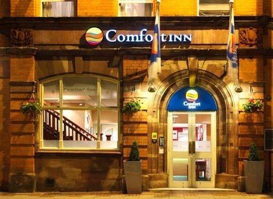 Comfort Inn Birmingham Exterior view