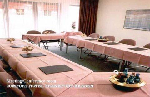 Comfort Hotel Frankfurt Karben - Meeting Room