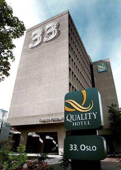 Quality Hotel 33 Vista exterior