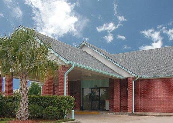Местоположение отеля Econo Lodge Pasadena в городе Пасадена находится