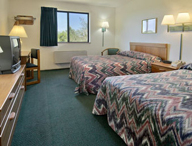 Super 8 Austin MN - Standard Two Double Bed Room
