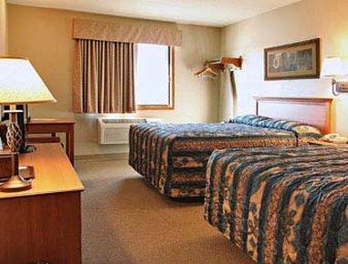 苏瀑速8酒店 - Standard Two Queen Bed Room